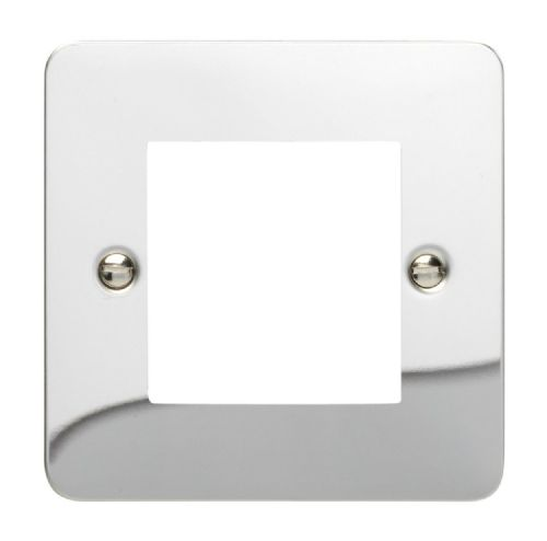 Varilight XFCG2 Ultraflat Polished Chrome DataGrid Plate (2 DataGrid Spaces)